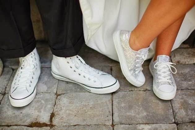 converse mujer boda