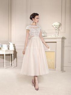 Vestido de novia de largo