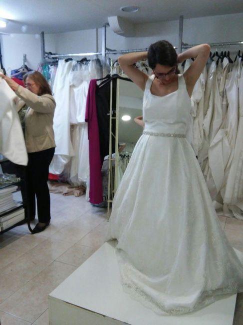 mi prueba de vestidos en manila novias - moda nupcial - foro bodas