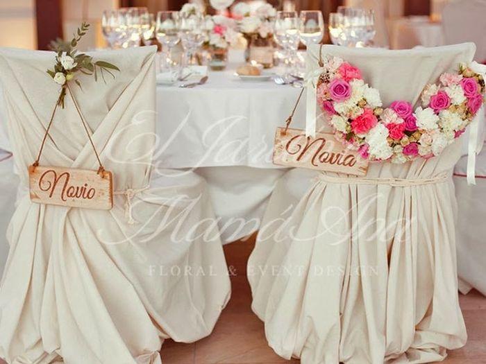 Las sillas de los novios banquetes foro for Sillas para novios en la iglesia