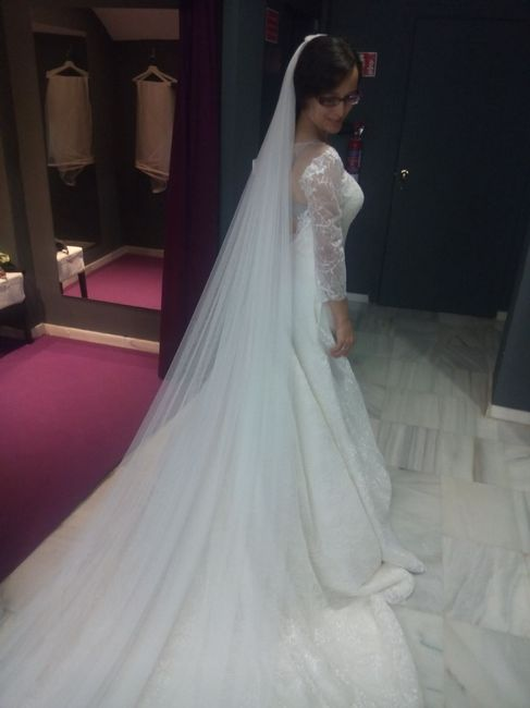 otras de mis pruebas de vestidos (ada novias y nuevo dia novias