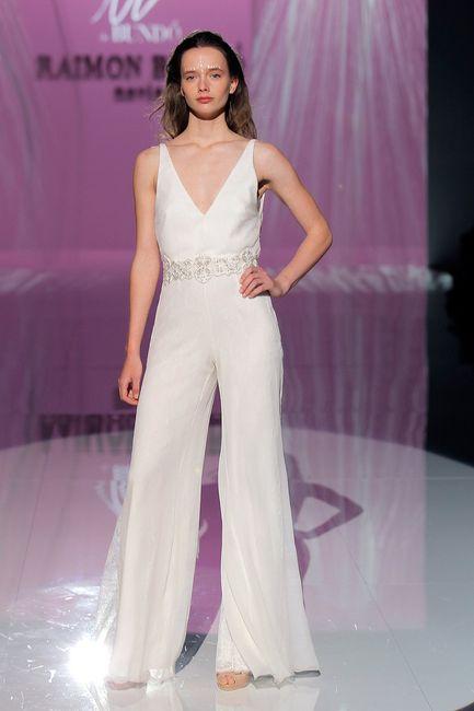 Vestidos de novia con pantalón, ¿llevarías uno? - Moda nupcial ...