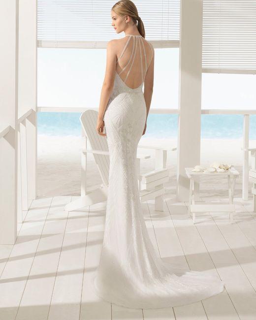 vestidos aire barcelona beach wedding 2018 - moda nupcial - foro