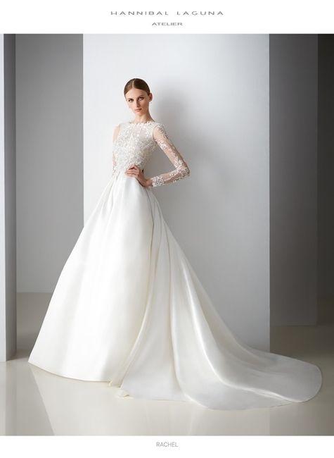 vestidos de novia hannibal laguna 2018 - moda nupcial - foro bodas