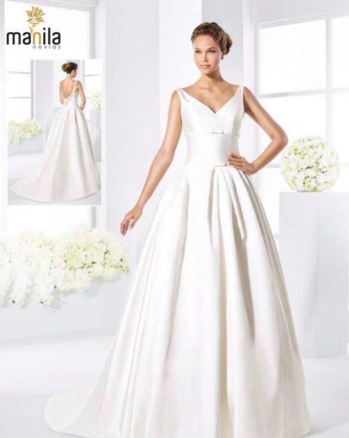 vestidos de novia manila novias 2018 (1) - moda nupcial - foro bodas