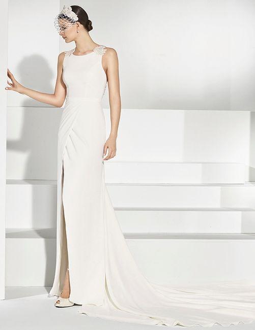 vestidos de novia de manu álvarez 2018 - moda nupcial - foro bodas