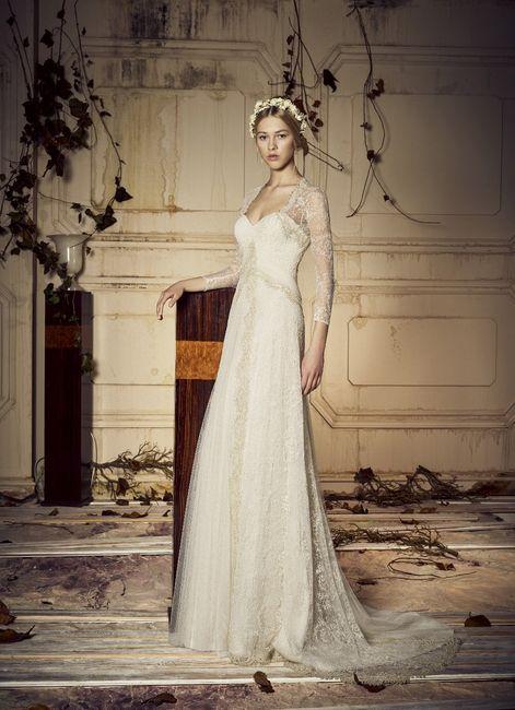 vestidos de novia de josé maría peiró, colección vintage - moda