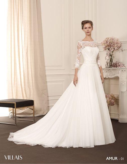 vestidos de novia de villais, colección villais - moda nupcial
