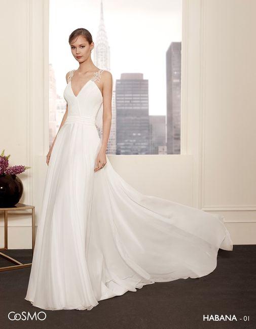 vestidos de novia de villais, colección cosmo - moda nupcial - foro