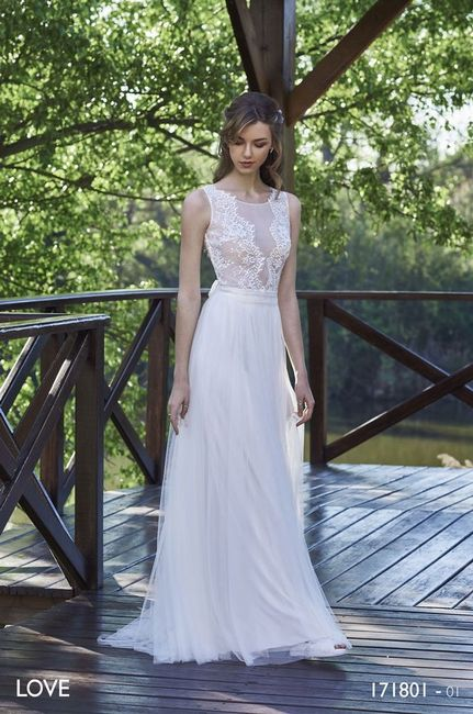 vestidos de novia de villais, colección love - moda nupcial - foro