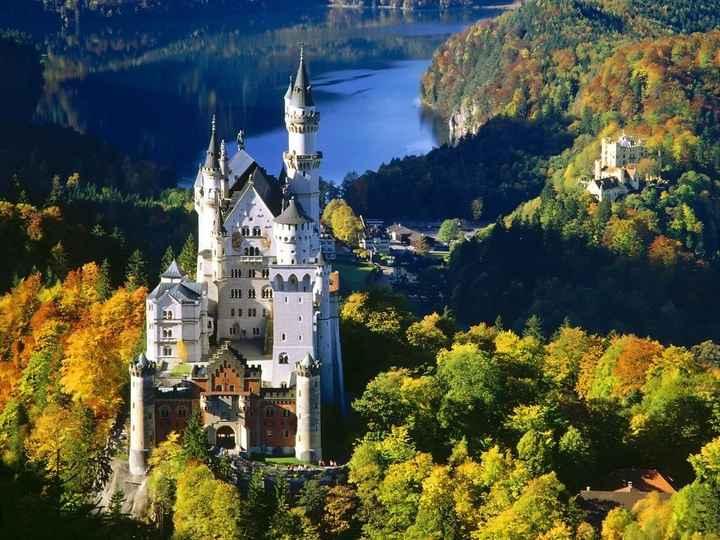 Neuschwanstein - Castillo del rey lco