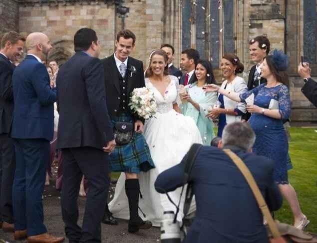3. El día de la boda de Andy Murray