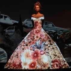 el vestido mapeado