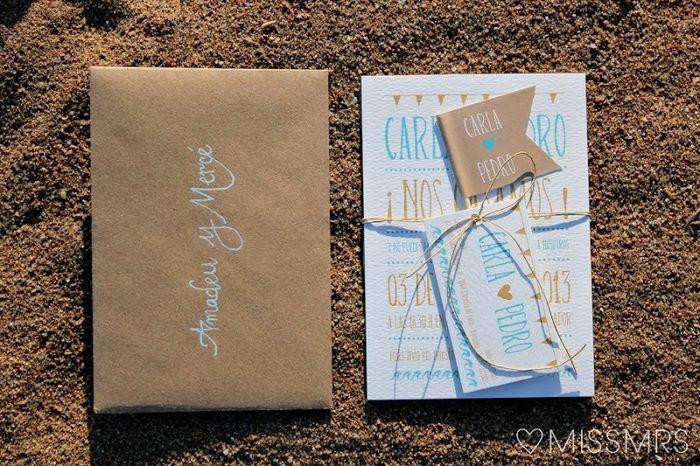 lettering sobres