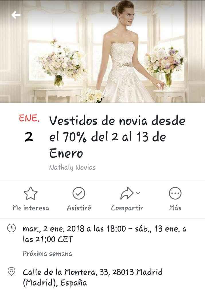 Vestidos Novia 70% Nathaly Novias - 1