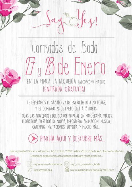 Feria Boda Alcorcon 27-28 Enero 2018