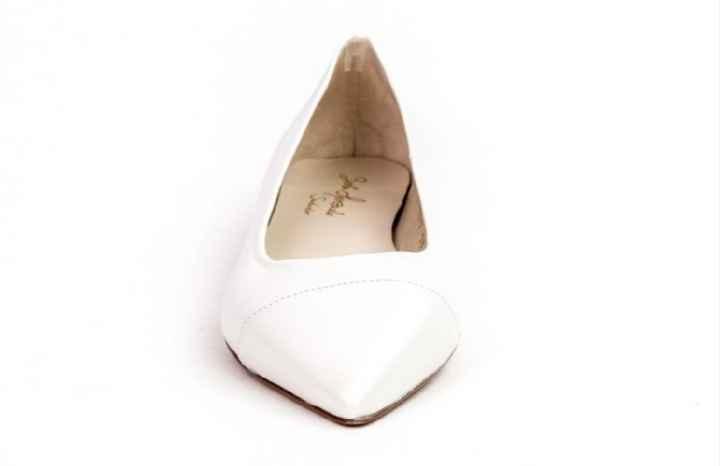 Zapatos de novia planos en camino 😀 - 2