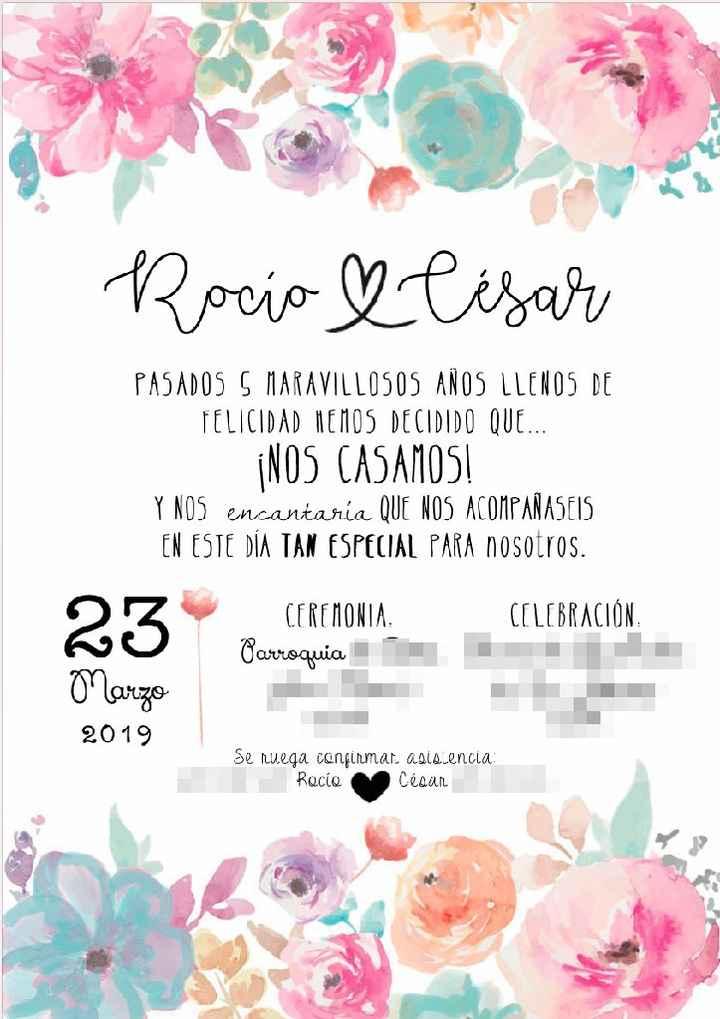 Invitaciones en camino!! - 1