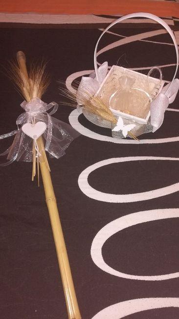 e3da44d42f97 Mi cesta d arras y mi vara para llevar los anillos 😍 - Organizar ...
