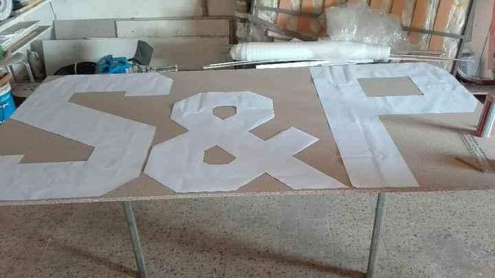 Como hacer boceto para letras de madera - 2