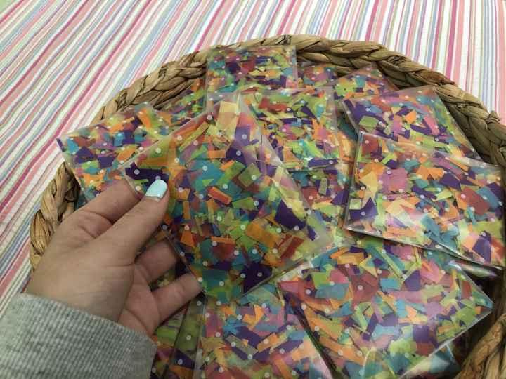 Confeti y lágrimas de felicidad - 1