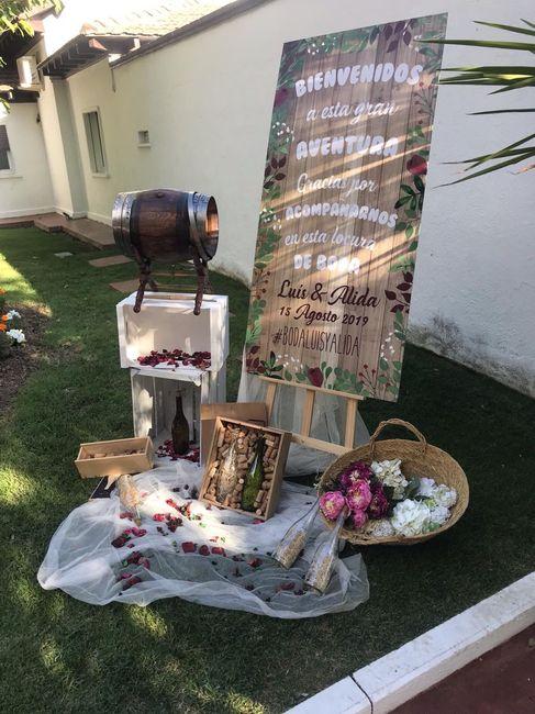 Decoración  mi boda 11