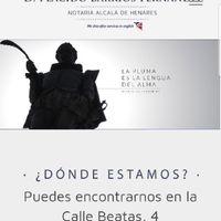 ¿Notarios en Madrid? - 1