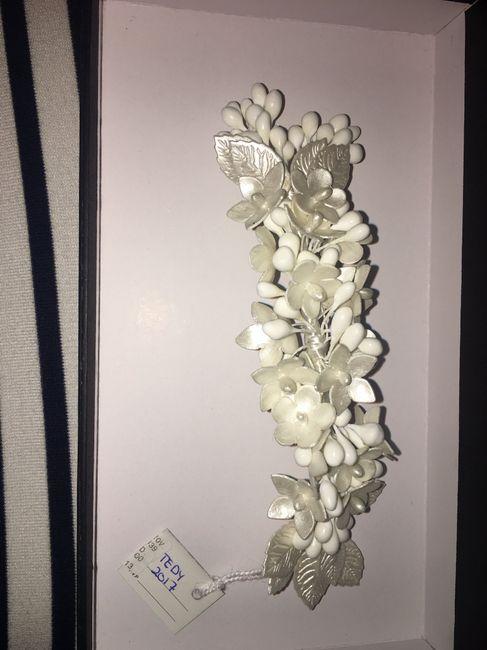 ¿Qué te parece este tocado para una boda? - 1