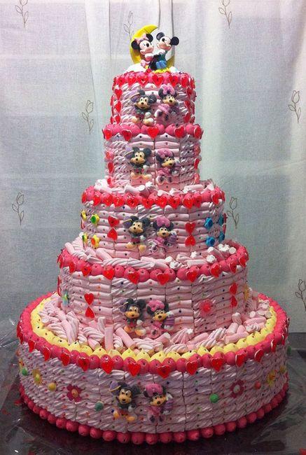 tarta de gominolas para barra libre - manualidades - foro bodas