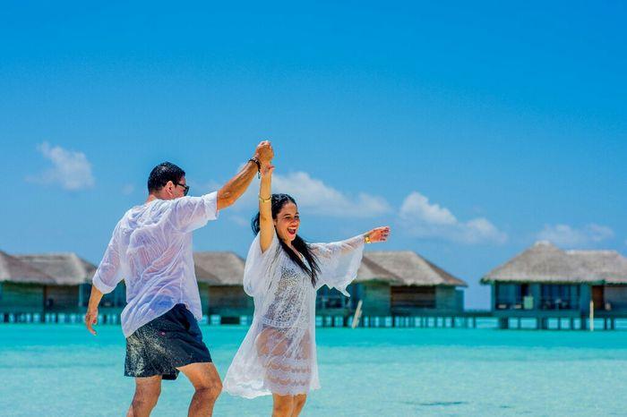 Fotos de post boda en Maldivas. - 1