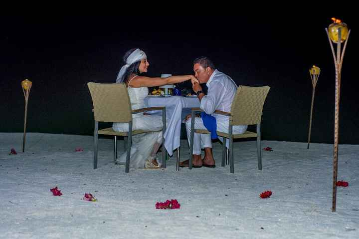 Fotos de post boda en Maldivas. - 6