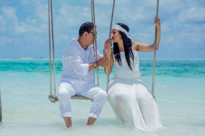 Fotos de post boda en Maldivas. - 8
