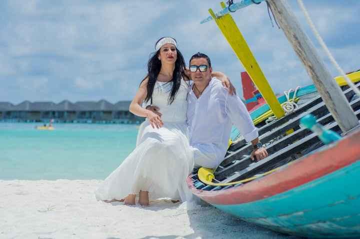 Fotos de post boda en Maldivas. - 9