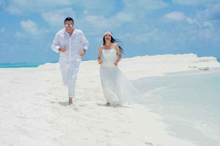 Fotos de post boda en Maldivas. - 10