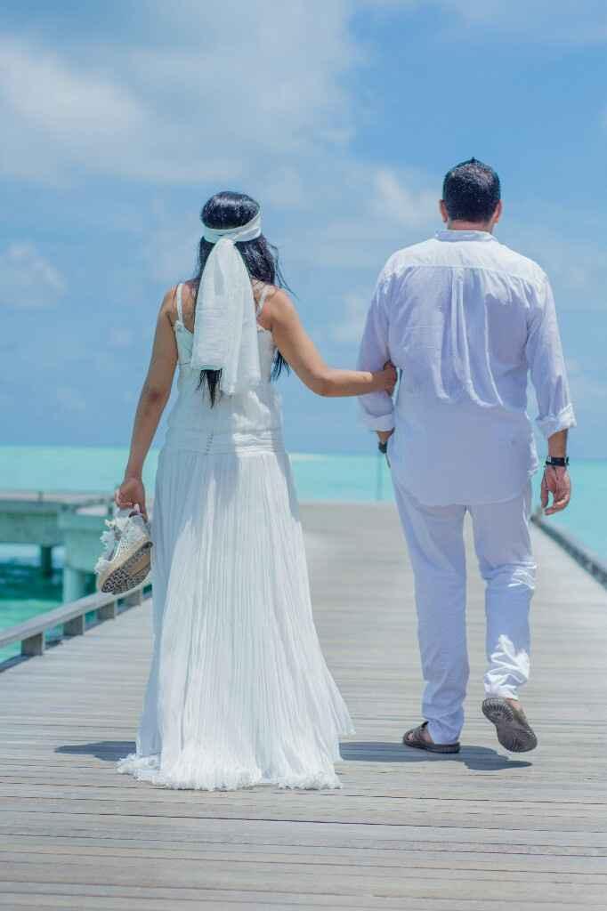 Fotos de post boda en Maldivas. - 11
