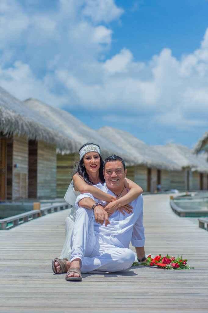 Fotos de post boda en Maldivas. - 12