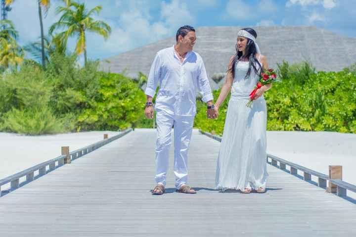 Fotos de post boda en Maldivas. - 13