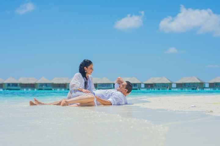 Fotos de post boda en Maldivas. - 14