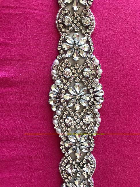 Cinturon vestido novia pedrería - Moda nupcial - Foro Bodas.net