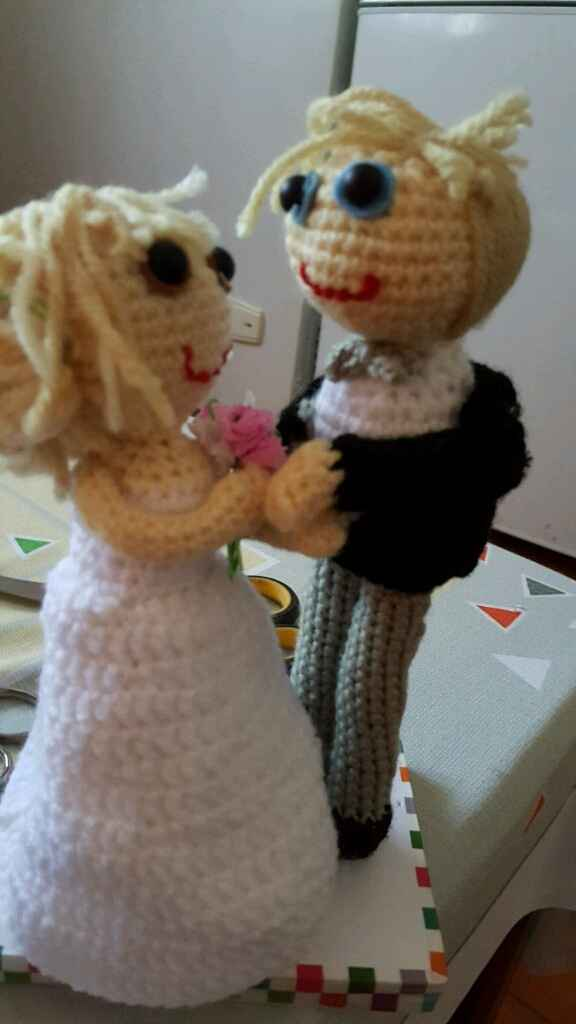Vuestro muñeco de tarta nupcial - 1