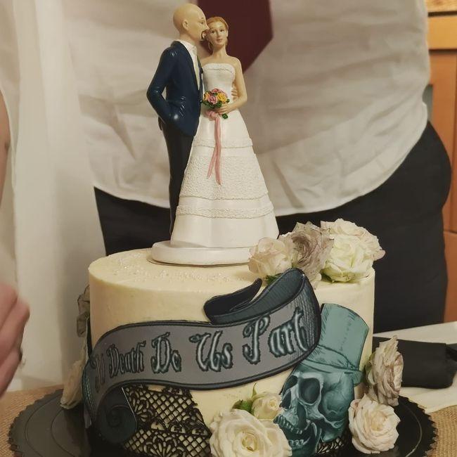 Tarta de boda, ¿si o no? 2