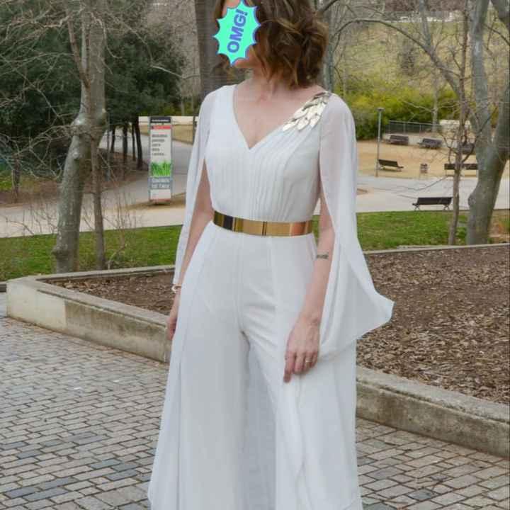 ¡Conoce algunas de las alternativas al vestido de novia tradicional! 😍 - 1