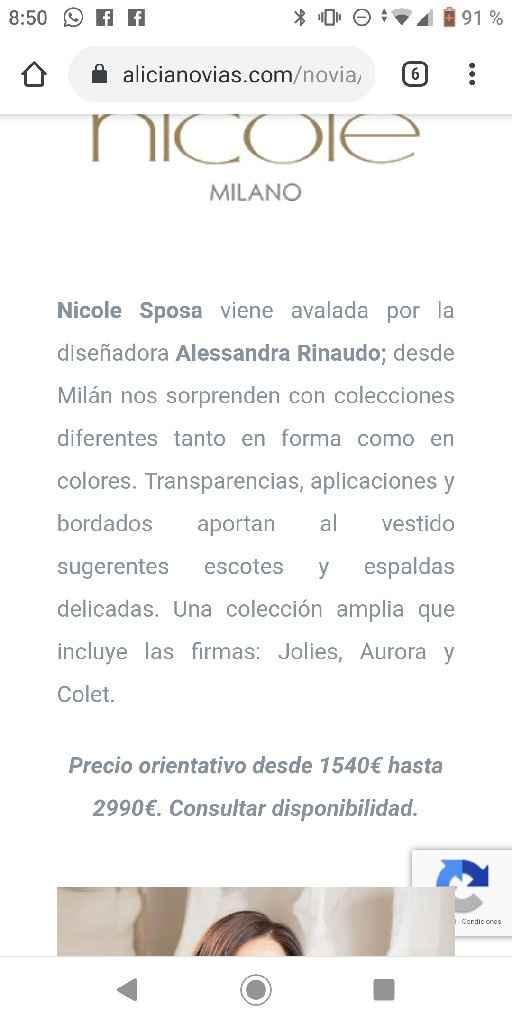 Vestidos Nicole - 1