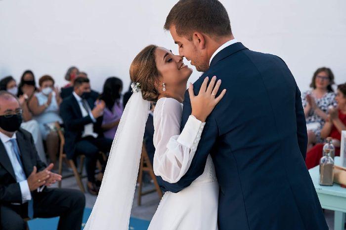 En tiempos difíciles... ¡el amor vence! Estamos casados!! 🎉 4