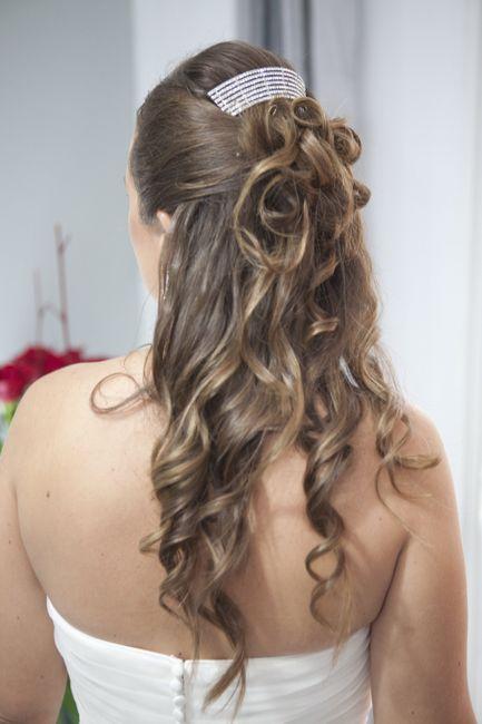 Semi recogidos con tirabuzones urgente belleza foro - Peinados de boda semirecogidos ...