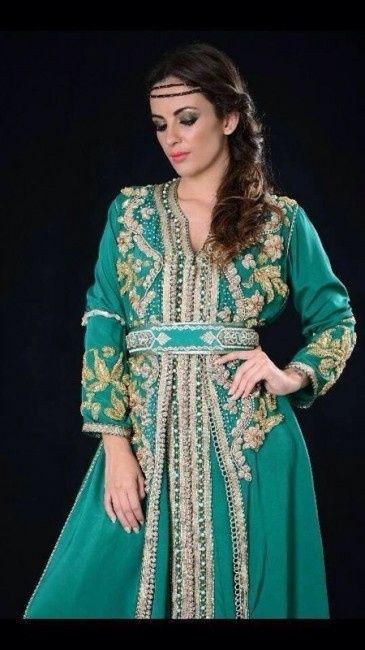 Vestidos arabes tradicionales para mujer