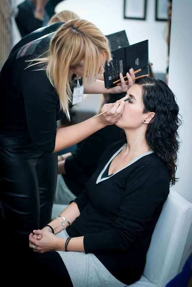 Foto de maquillaje de novia prueva