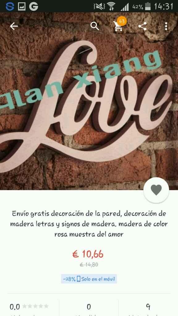 Love para mesas - 1