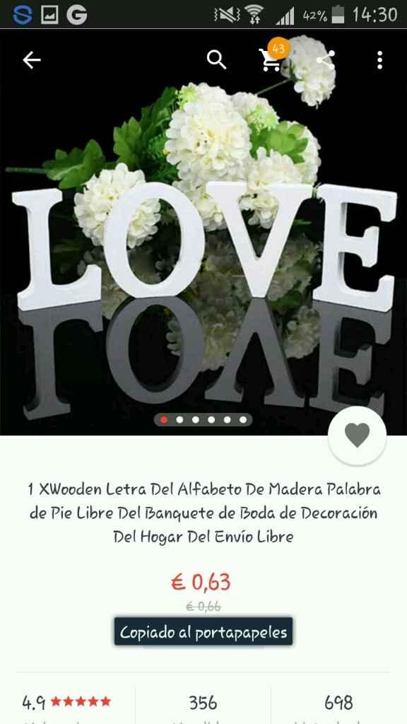 Love para mesas - 2