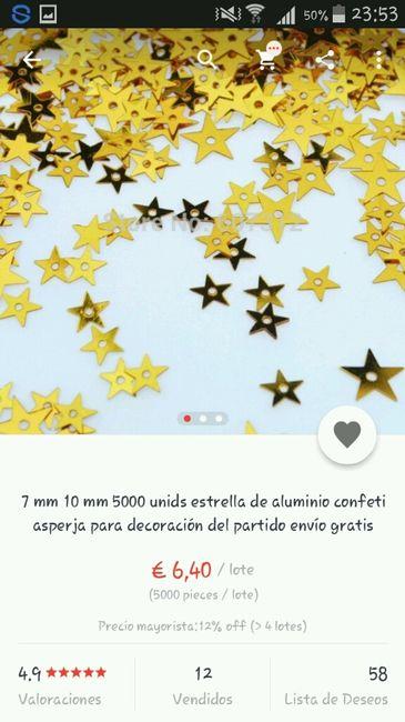 Confeti dorado - 4
